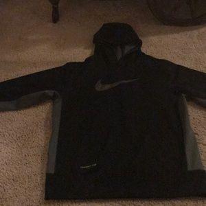 Nike Shirts & Tops - Nike swoosh hoodie size YL